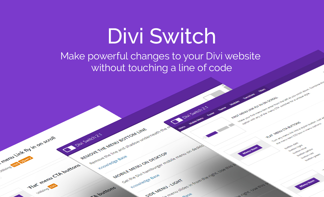 Divi Switch Divi Space