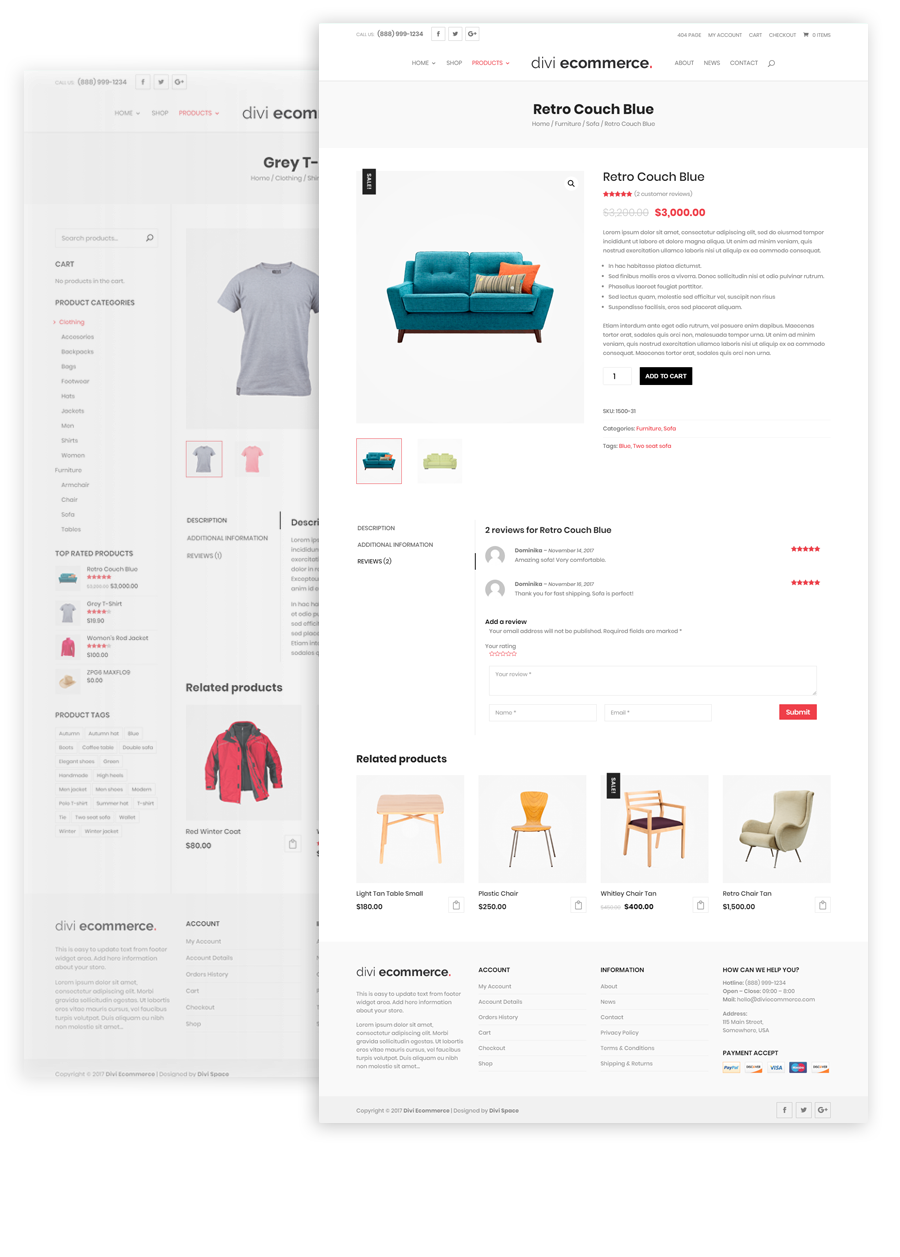Divi-Space-Divi-Ecommerce-Child-Theme-Product Page