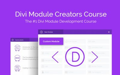 Learn How to Build Custom Divi Modules with our Latest Online Course!