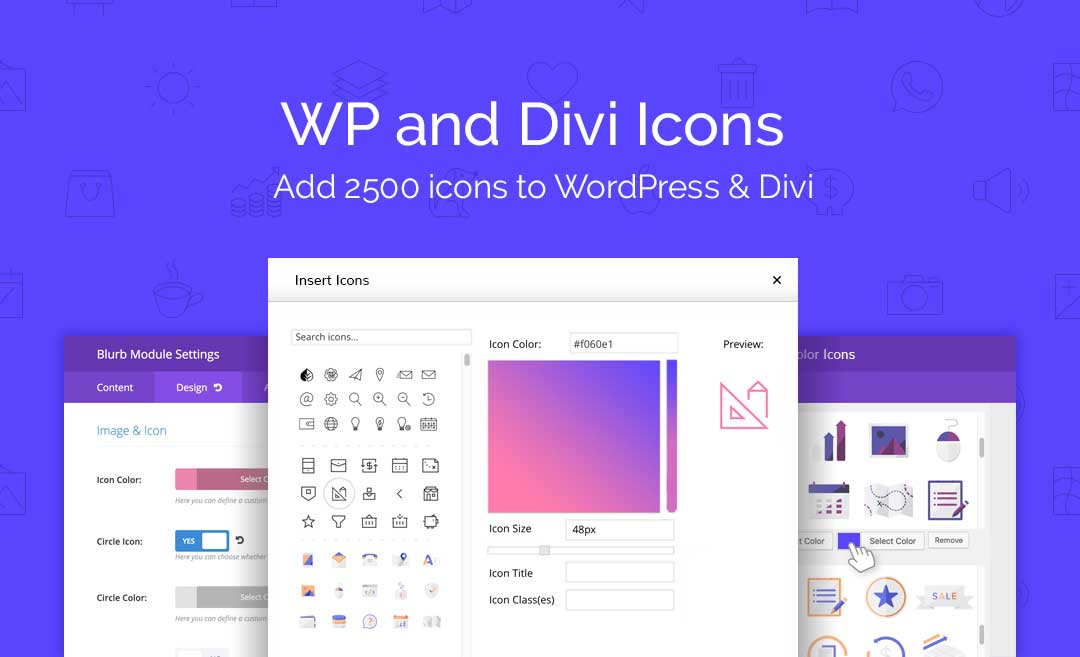 WP and Divi Icons | Divi Space